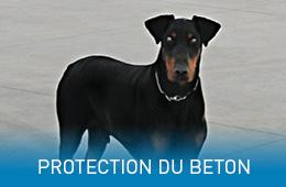 Protection du béton