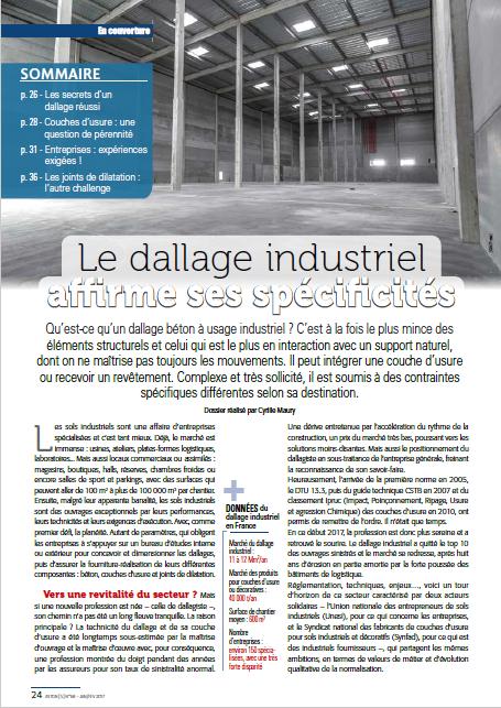 actualités - Le Dallage Industriel