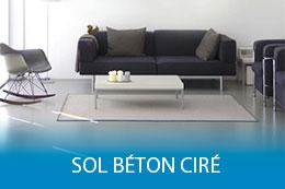 Sol Béton Ciré